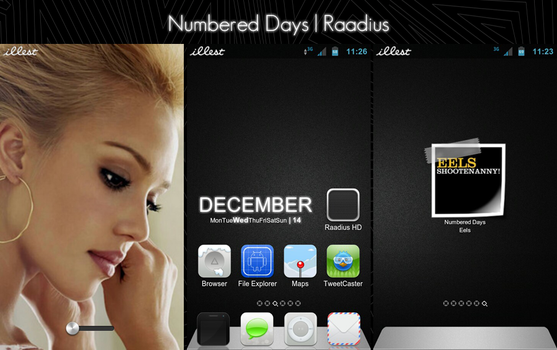 Numbered Days by Raadius