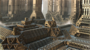 Fractal Castle IV by banner4