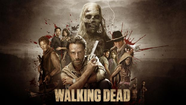 The Walking Dead collage - Wallpaper by RockLou