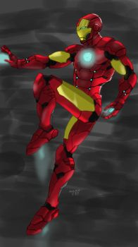 Iron Man  by andrieF87