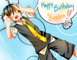 Happy Birthday Kream !! by Irooyo