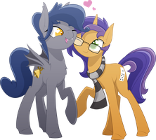 [Commission] Belfry + Domino by Emkay-MLP