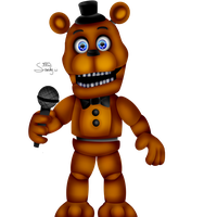 -Adventure Freddy- (FNAF world) by Sanity-Paints