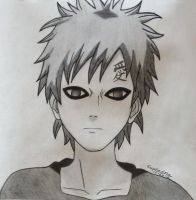 Gaara, the Kazekage by Euphadora