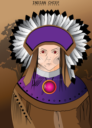 Indian Chief by Freezmy