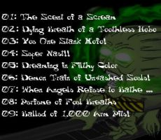 Scent of a Scream - CD Back by EmeraldTokyo