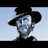 Tribute to Clint Eastwood by psychee-ange