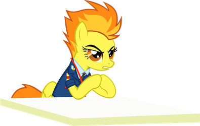 Serious Business Spitfire by videogamesizzle