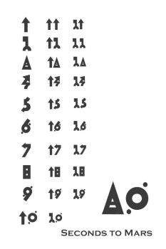 30 seconds to mars numbers by Gordjia
