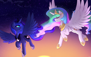 When Night Turns To Day by TheBatFang