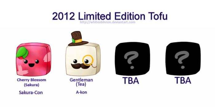 Limited Edition Tofu by WhiteOblivion