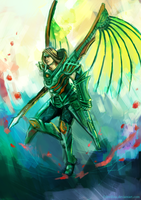 Jade Dragoon Albert by fireillisa