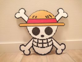 One Piece Picture #10. Straw Hat Jolly Roger v2 by MagicPearls