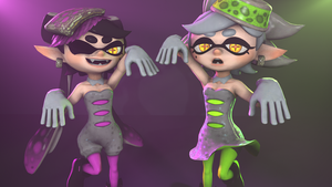 Squid Sisters by CryRanger