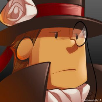 Monocle Layton icon by zillabean