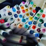 Yay!! my Markers came :D by KitKatKatness