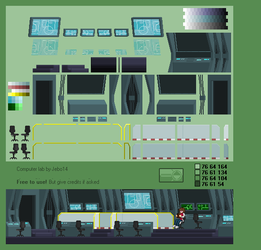 Interior 3: Computer lab by jebo14