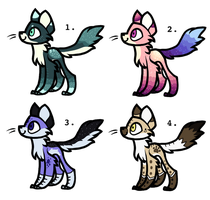 Cat Adopts (CLOSED) by WolfoxAdopts