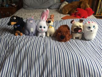 My Plush Toys of the Secret Life of Pets by ShaneALF1995