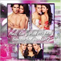 Photopack 32: Nina Dobrev, Ian S. y Paul W. by SwearPhotopacksHQ