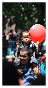 Red Balloon by perfectsunday