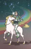 RIDE TO INFINITY, BUTTERCUP by autis