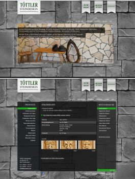 Stonemason - Weblayout by medienvirus