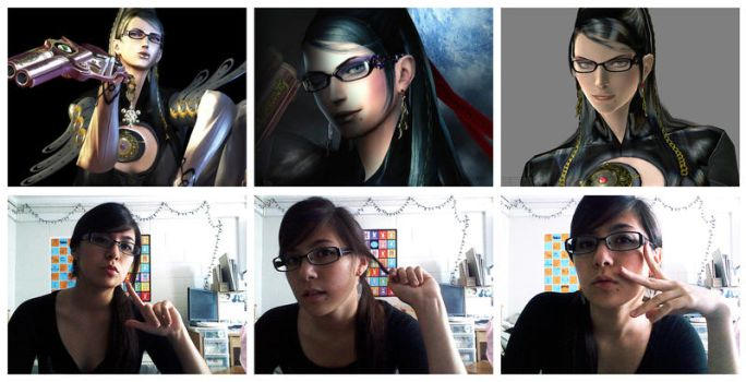 Bayonetta's actually my twin. by litchi-chan