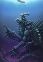 Deep Kaiju by PeterSiedlArt