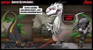 CineMons: Jurassic Downgrades by JSComix