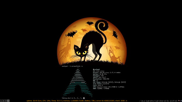 screenfetch halloween 2014 by CSCoder4ever