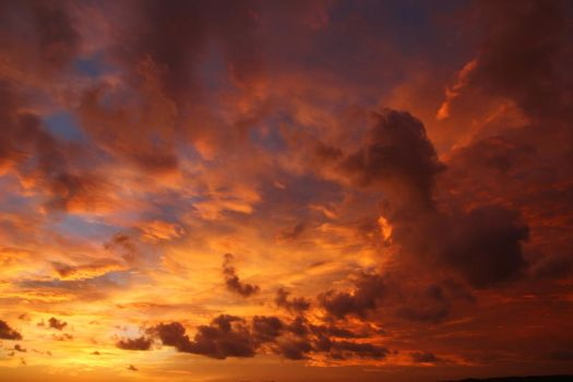 Fire in the sky 2 by CAStock