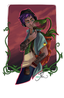 Plant Witch by kiranox