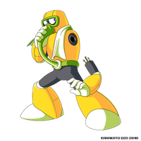 Plague Man (Mega Man Rock Force) by KarakatoDzo