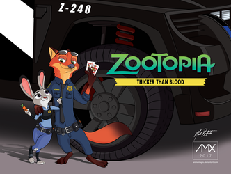Zootopia TTB Fanfic Cover by animemagix