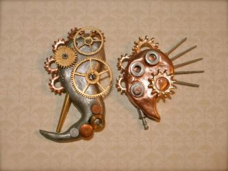 Gears and spurs by Pax-Aquilo