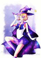 Senshi comm. || Sailor Magic [+ Speedpaint] by BluAjisai
