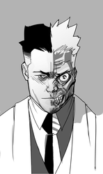 Batman Rogue Gallery: Two-Face by TheAdrianNelson