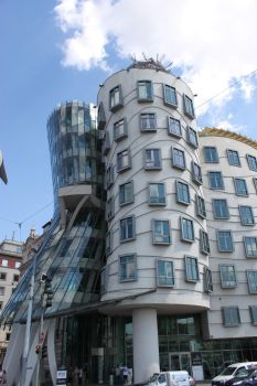 Dancing House, Prague by treadstone01
