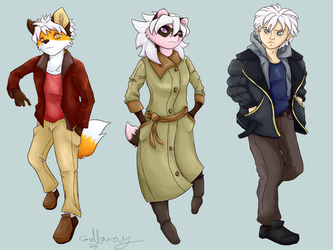 Steele Sibs Alt Outfits by Fruitso