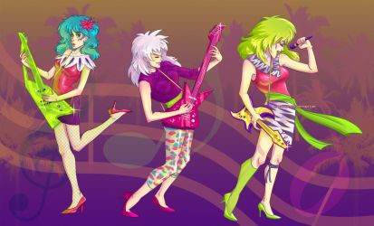 Our songs are better. by CrystalCurtisArt
