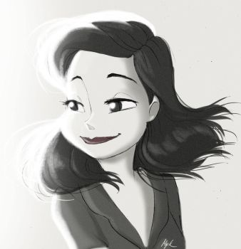 Disney's Paperman by Myed89