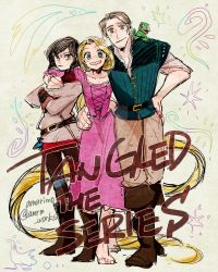 Tangled the series by amarim
