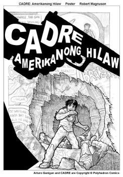 CADRE Amerikanong Hilaw Poster by RMagnuson