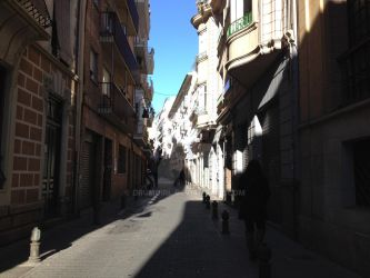 Streets of Granada by drumgirl