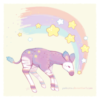 sweet dreams okapi by Paleona