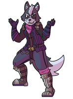 Wolf (Smash Ultimate) by Kame-Ghost