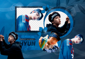 PNG PACK: Hyunjin (I am WHO) by Hallyumi