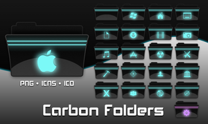 Carbon Folders by necramar