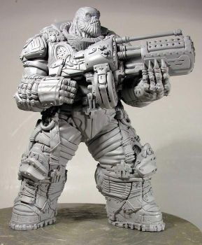 Gears of War Boomer prototype by alterton